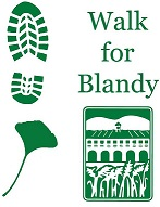 5K Walk for Blandy T-Shirt Logo