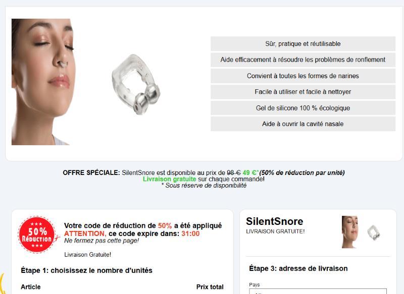 acheter Silent Snore