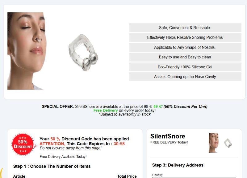 buy Silent Snore