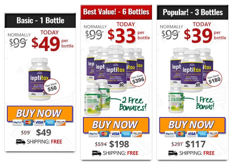 Deals On Weight Loss Leptitox