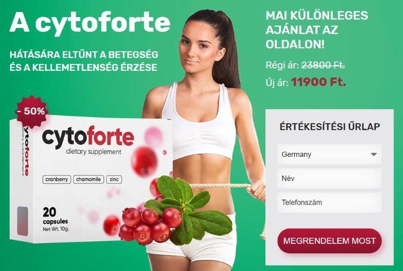 Cyto Forte vásárlás