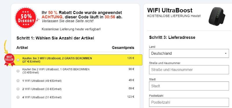 Wifi Ultra Boost kaufen