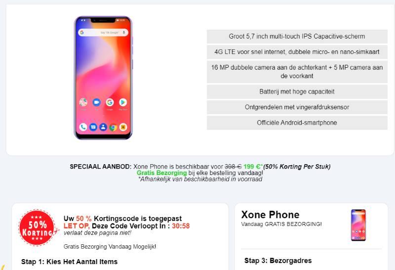 X One Phone kopen