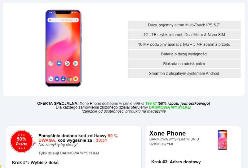 kupić X One Phone