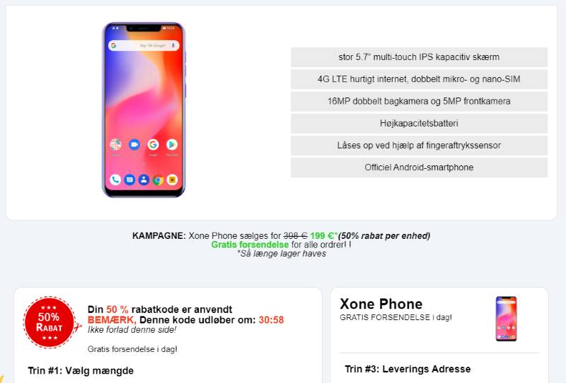 køb X One Phone