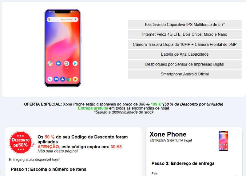 comprar X One Phone