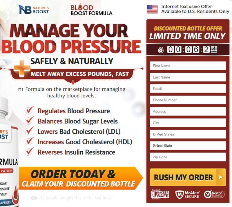 Buy Blood Boost Formula