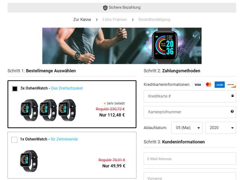 Oshenwatch kaufen