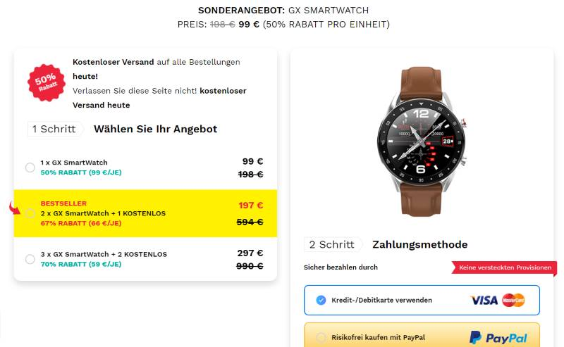 Kaufe GX Smartwatch