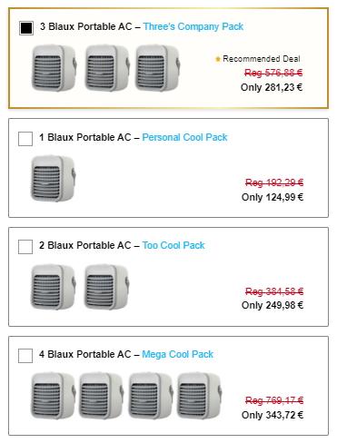 Buy Blaux Portable AC