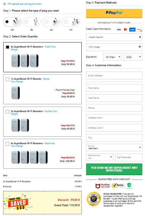 buy Superboost Wifi