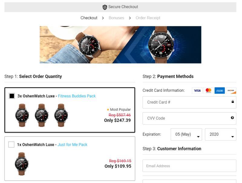 acheter Oshenwatch Luxe
