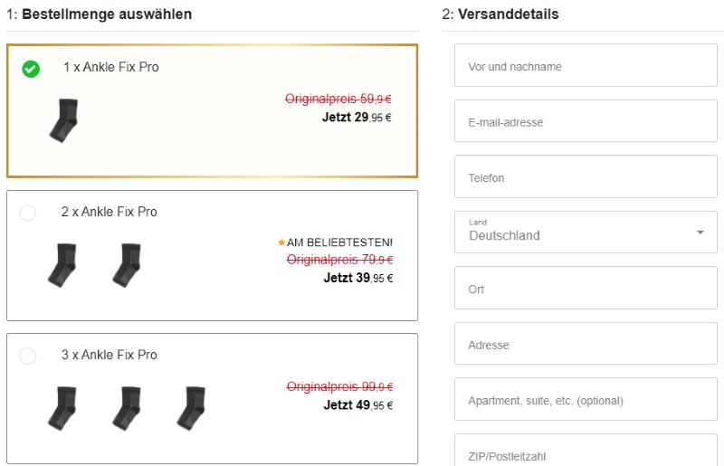 Kaufe Ankle Fix Pro
