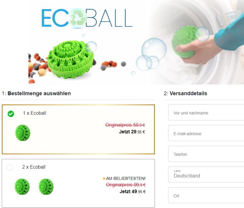 Kaufe Ecoball