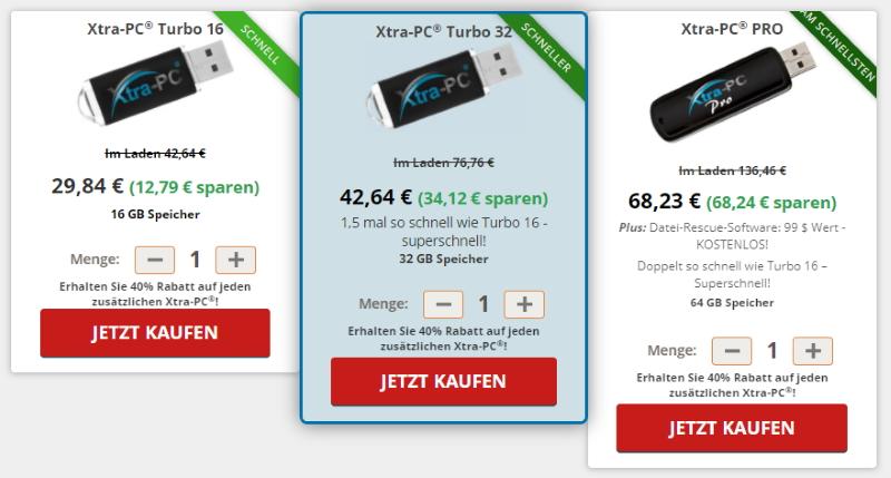 Kaufe Xtra-PC