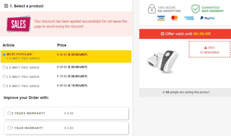 Buy Watt Pro Saver