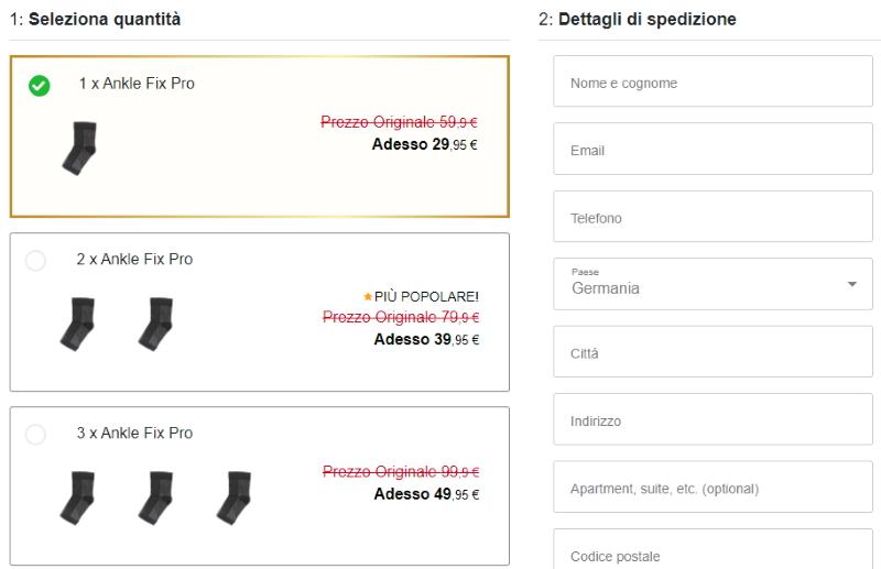 acquista Ankle Fix Pro