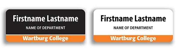 Name Tag Design Samples